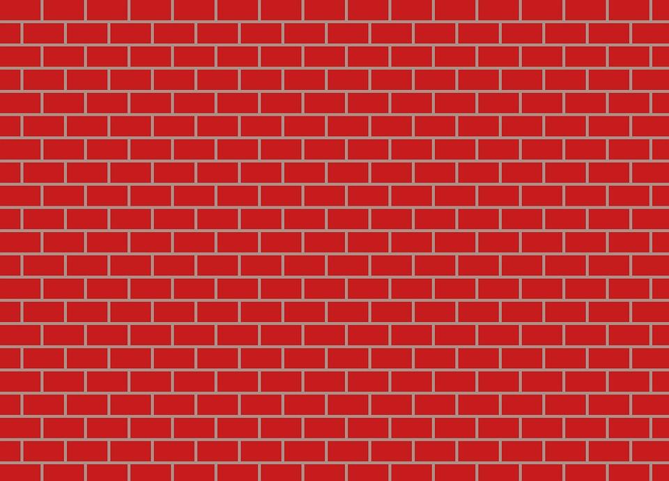 Free illustration brick wall bricks stone wall free image on