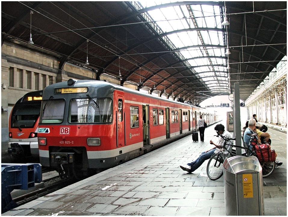 Train Germany Mainz Free Photo On Pixabay