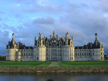 Castle, Chambord, Loire Valley