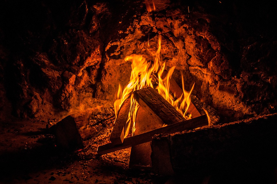 Fireplace Design starting a fire in a fireplace : Free photo: Open Fire, Fire, Wood, Burn, Blaze - Free Image on ...