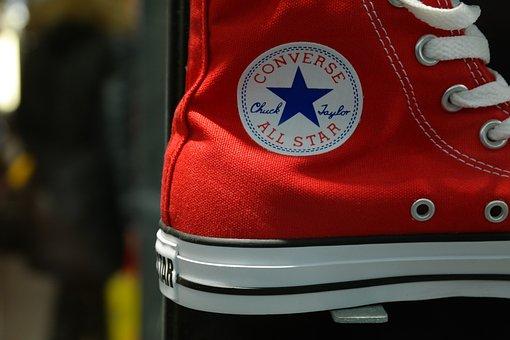Shoe, Sneaker, Red, Fashion, Shoelaces
