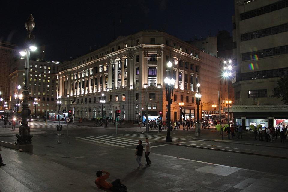 Centro, São Paulo, Noite, Monumentos Históricos