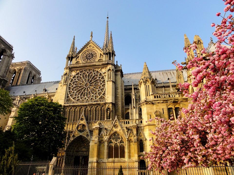 Париж, Нотр Дам Де Пари, Часовня, Здание, Архитектуры