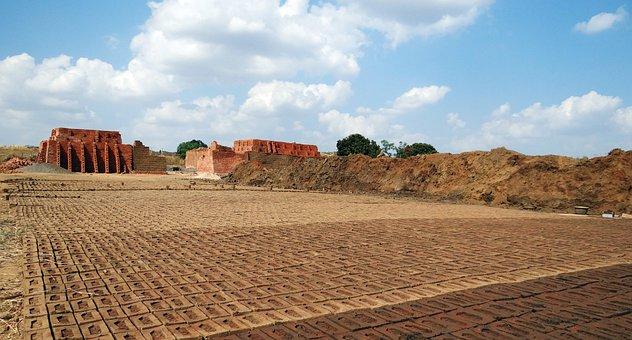 Brick-Laying, Brick-Making, Brick-Kiln
