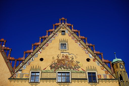 home building town hall ulm facade - Free Painting Pictures
