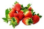 truskawki, słodki, czerwony