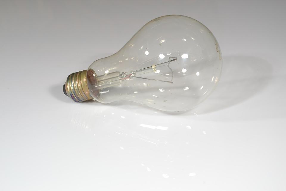 電球, Żaówki, 照明, 明らかに, 光