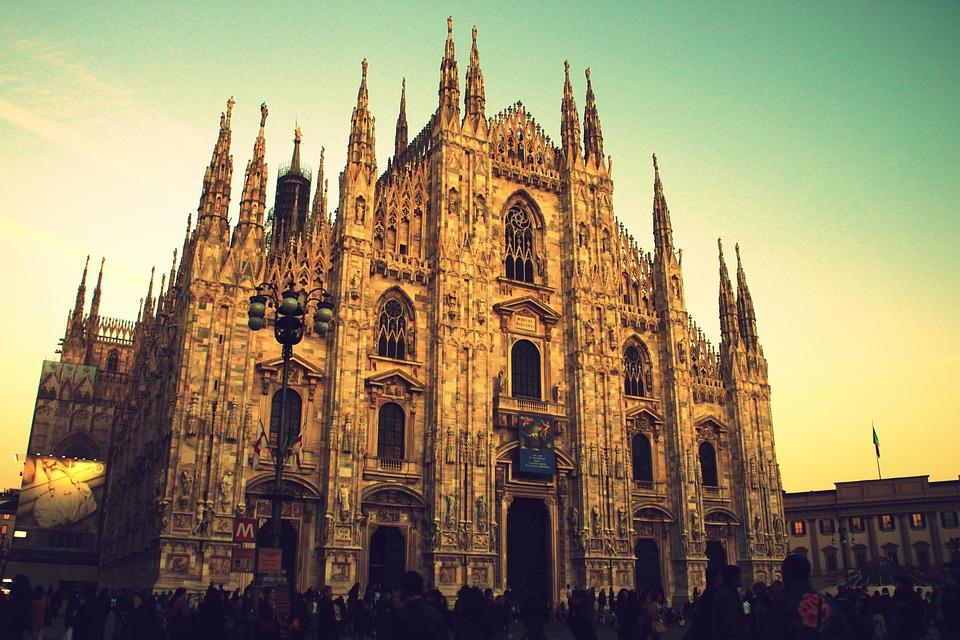 Milan, Duomo, Monument, Italy, Architecture, Downtown