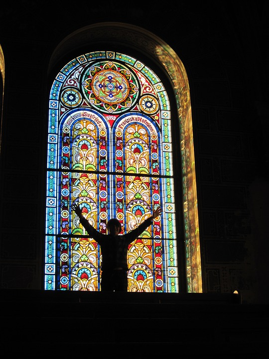 free photo stain glass window free image on pixabay