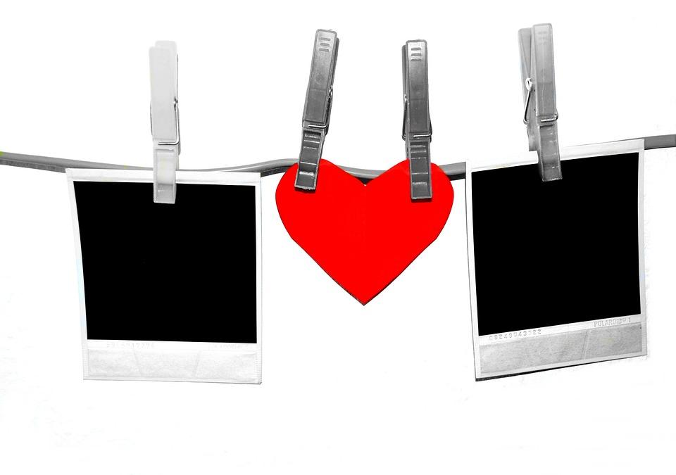 Bien-aimé Photo gratuite: Polaroid, Pinces À Linge, Coeur - Image gratuite  WX13