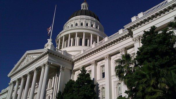 Capital, Building, Sacramento, Landmark