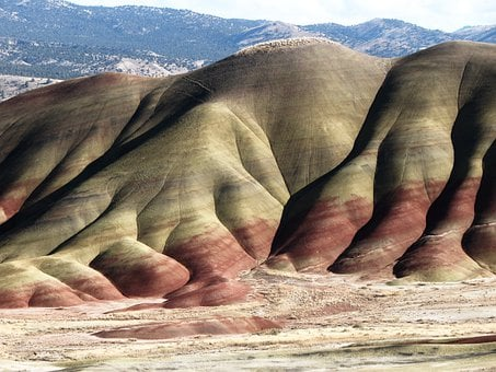 Painted Hills, John Day, Fossil Beds
