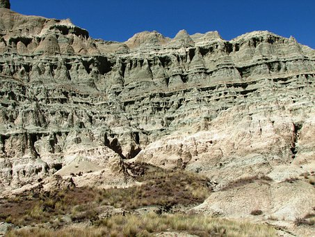 Fossil Beds, Geological, Rock Formation