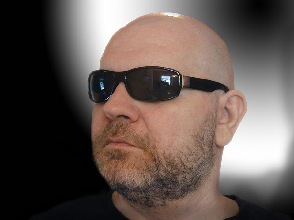 Glatze Mann Sonnenbrille Kostenloses Foto Auf Pixabay