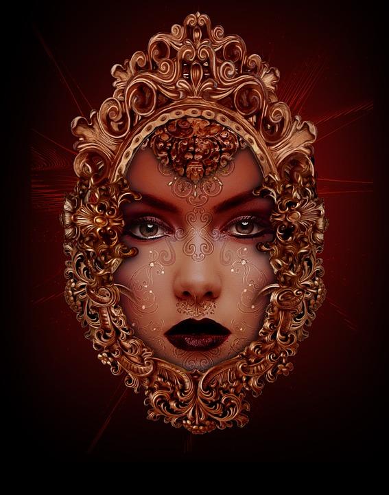 Femme Tatouage Indien Image Gratuite Sur Pixabay