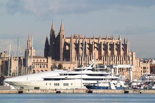 Panorámica de Catedral-Basílica de Santa María de Palma de Mallorca