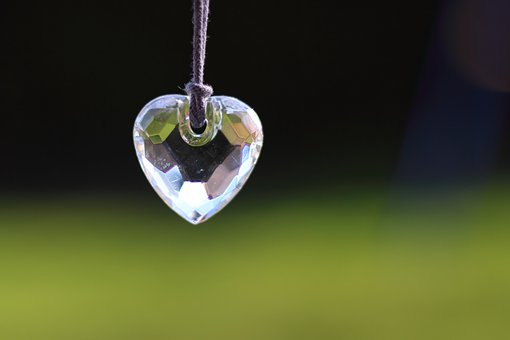 心, ガラス, 光, トレーラー, ジュエル, 愛, ロマンス