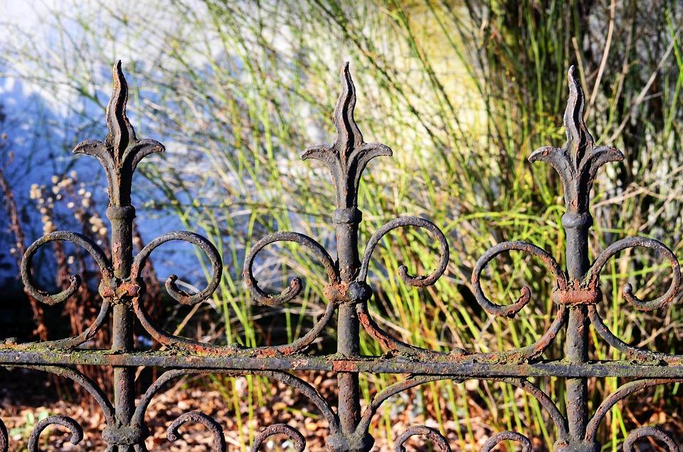 Kostenloses foto zaun gartenzaun eisen rost moos kostenloses bild auf pixabay 274196 - Eisen gartenzaun ...