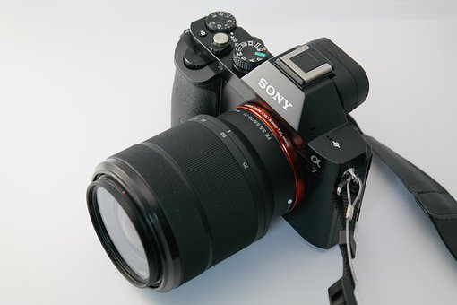 Camera, Photo Camera, Sony Alpha 7, Sony