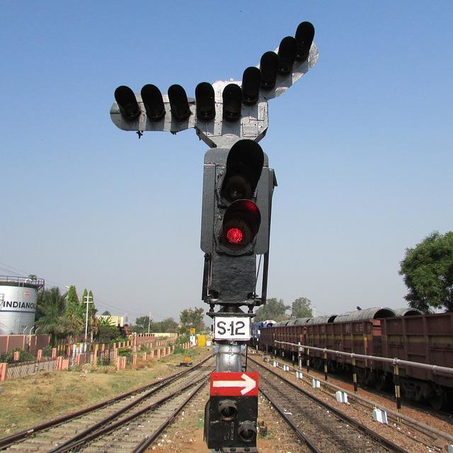 Railway Signal Hospet India 183 Free Photo On Pixabay