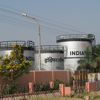 Railway Fuel Tanks, Hospet, India