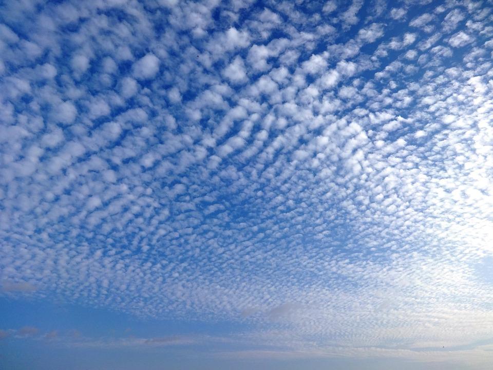 Niebo, Chmury, Cirrus, Na Zewnątrz, Sceniczny, Spokojny