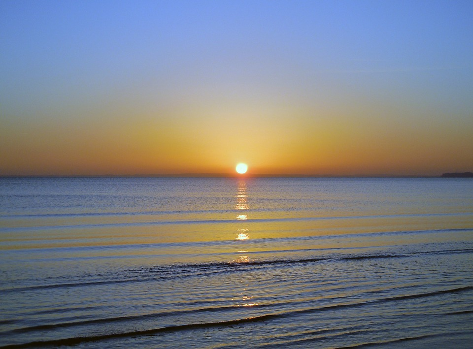 Morgenstimmung Alba Sul Mare Foto Gratis Su Pixabay