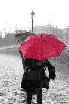 Déšť, Voda, Kapky, Deštivé, Deštivý Den