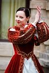 średniowieczny, taniec, historia
