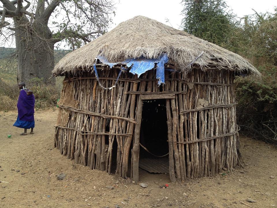 Free photo hut dwelling africa rustic free image on for Piani casa africani gratis