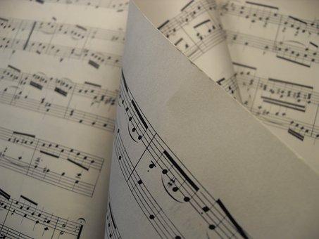 Musiknoten,  Musik,  Melodie,  Blatt