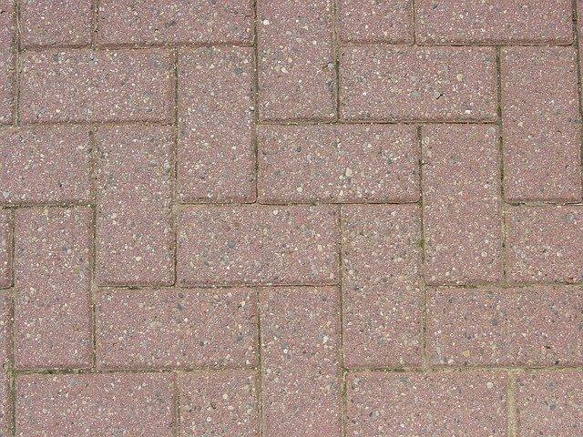Free photo bricks patio red paving pattern free for Carrelage 30x30 beige