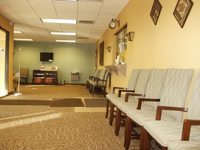 Free Photo Waiting Room Anteroom Doctors Free Image