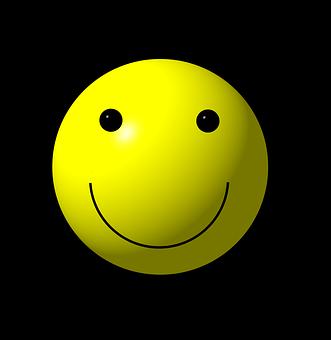 Smilie, Smiley, Emoticon, Logo, Gelb