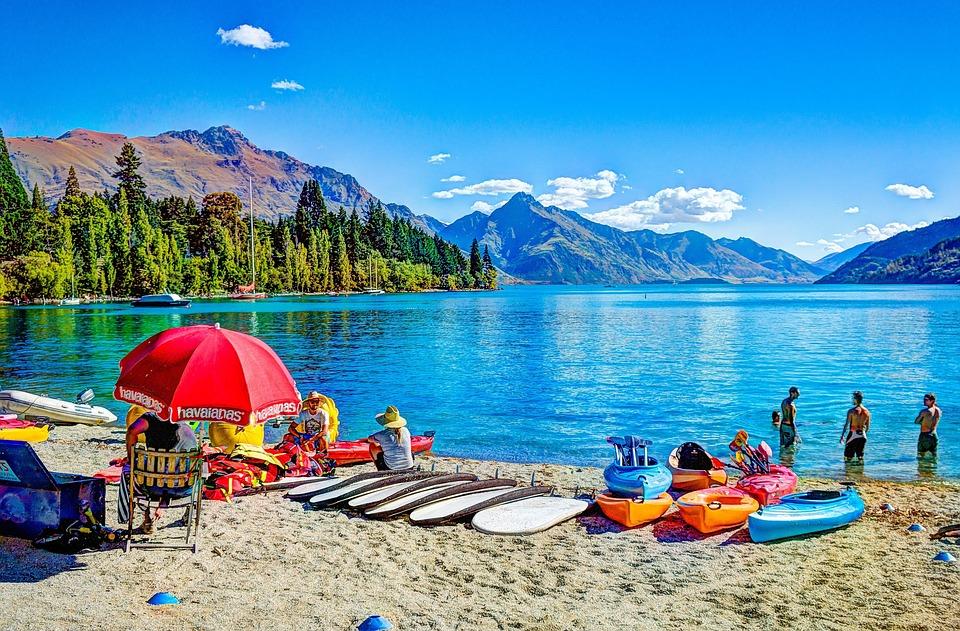 Queenstown Beach New Zealand Free Photo On Pixabay