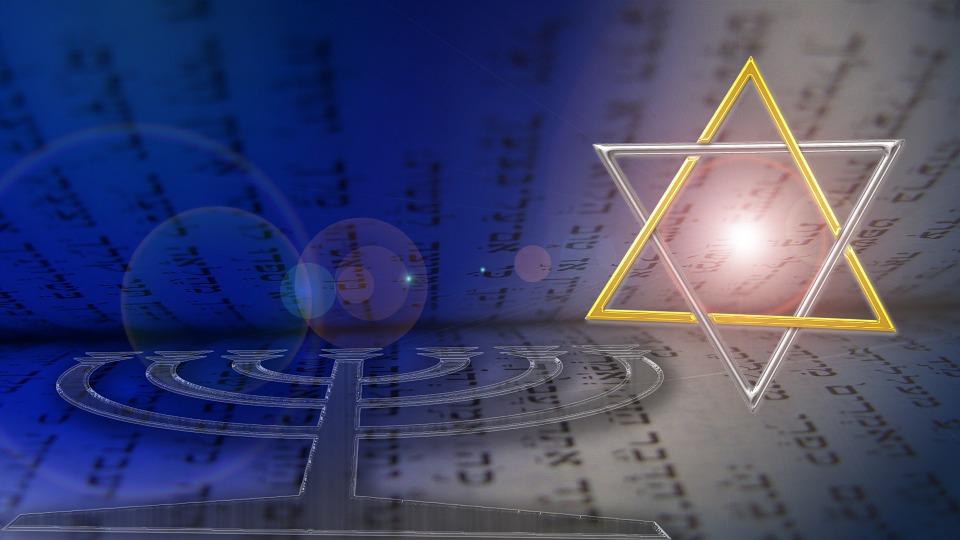 Star Of David, Menorah, Hebrew, Judaism