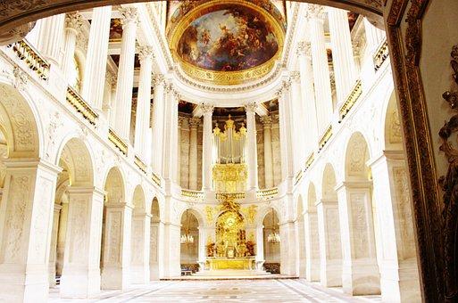 Hallway in Versailles.