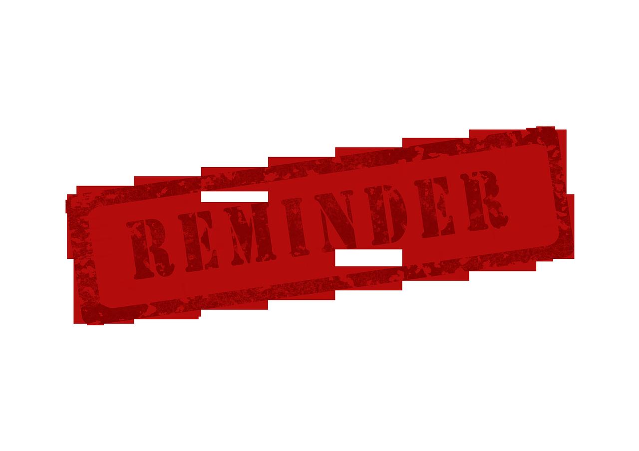 Memory Reminder Warning - Free image on Pixabay