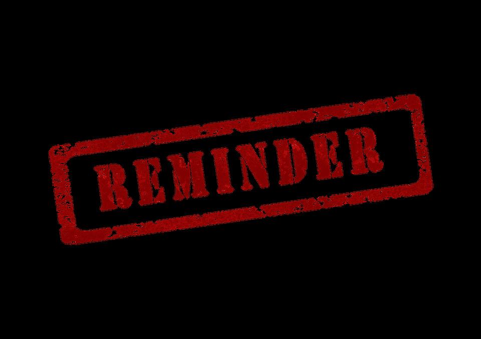 Erinnerung Erinnerungsschreiben Kostenloses Bild Auf Pixabay