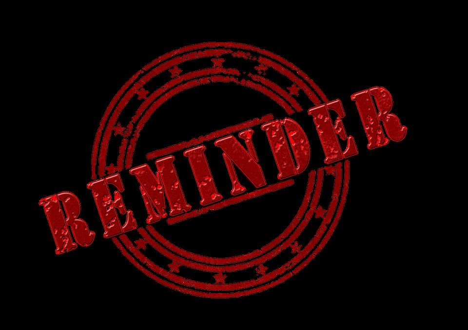 Reminder Dimensional Control Free Image On Pixabay
