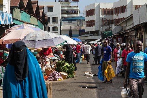Market, Mombasa, Purchasing, Kenya
