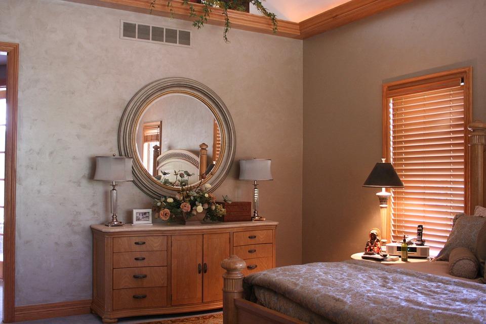 Спалня, Боя, Декорация, Интериор, Начало, Стая, Дизайн