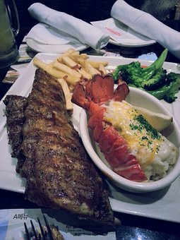 Lobster Fish Grilled Food Seafood Sea Fres