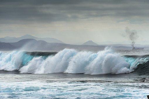 Wave, Surf, Lanzarote, Fuerteventura