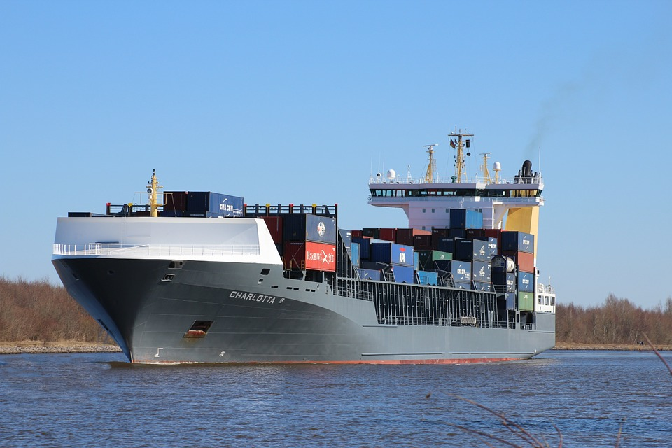Free Photo Container Ship Ship Freighter Free Image