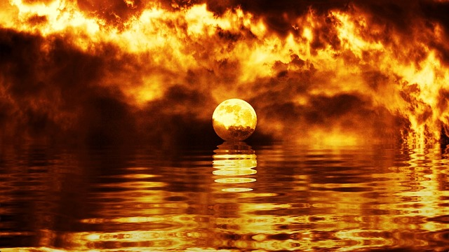 Free Illustration Sunset Dawn Dusk Twilight Ocean