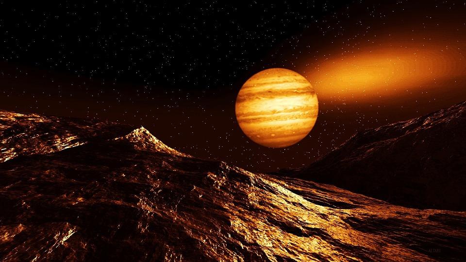 Illustrazione gratis universo pianeti spazio giove for Immagini universo gratis
