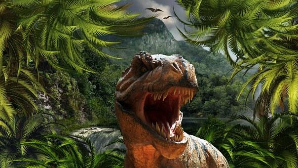 Tyrannosaurus Rex Dinosaur Reptile Jurassi