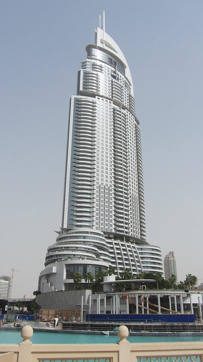 rascacielos edificio dubai foto gratis en pixabay