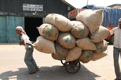 Hard Labour, Sacks, Transportation